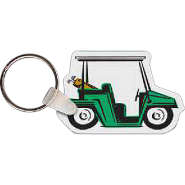 Personalized Golf Cart Key Tag