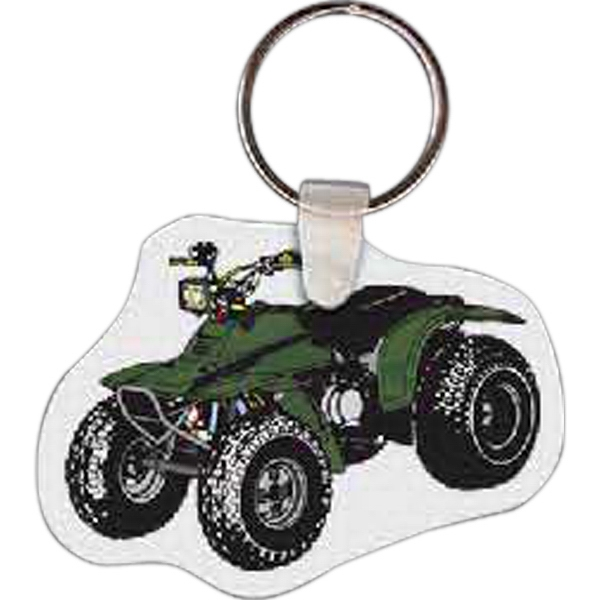 Printed Four Wheeler Key Tag