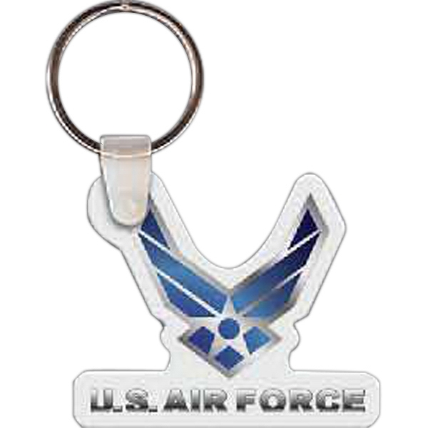 Personalized Air Force Logo Key Tag