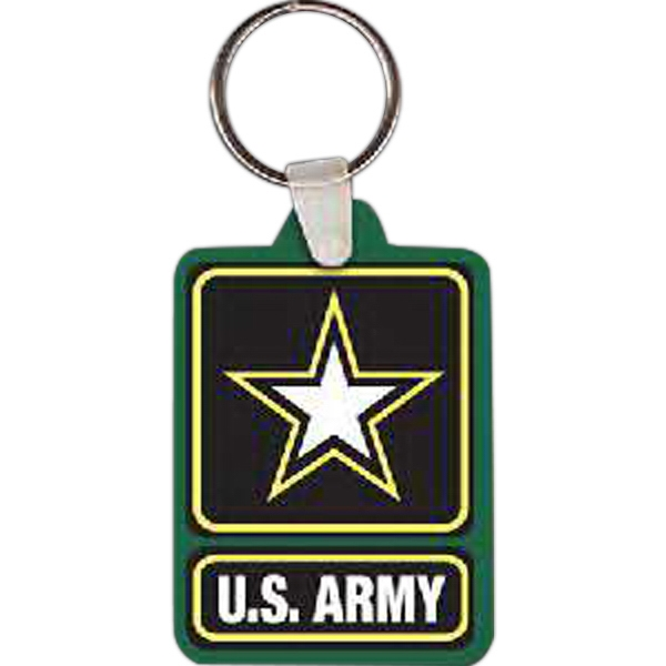 Custom Army Logo Key Tag