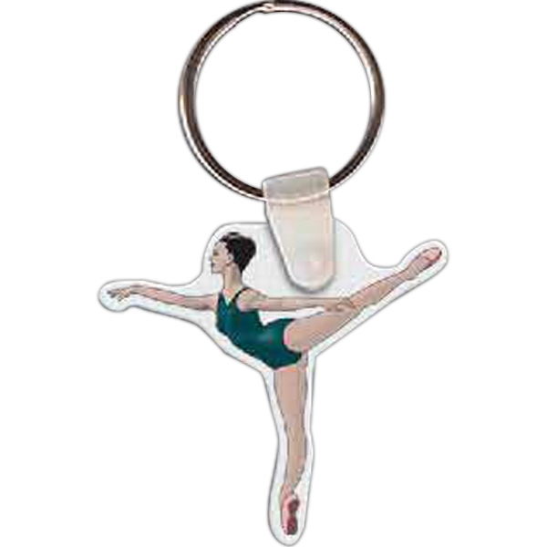 Custom Ballerina Key Tag