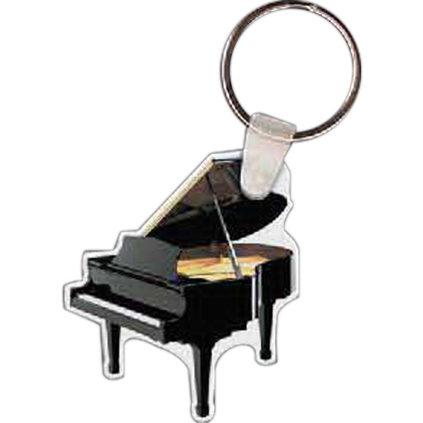 Promotional Grand Piano Key Tag