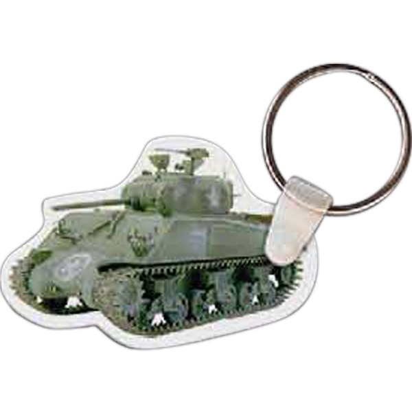 Promotional Tank Key Tag