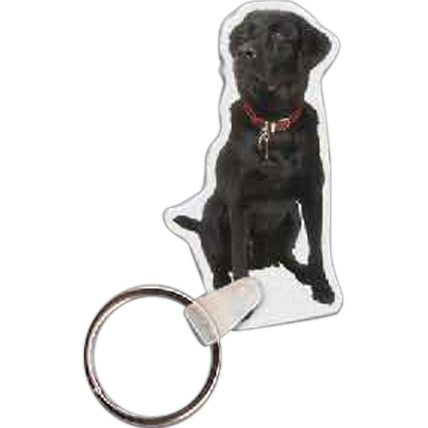 Printed Dog Key Tag