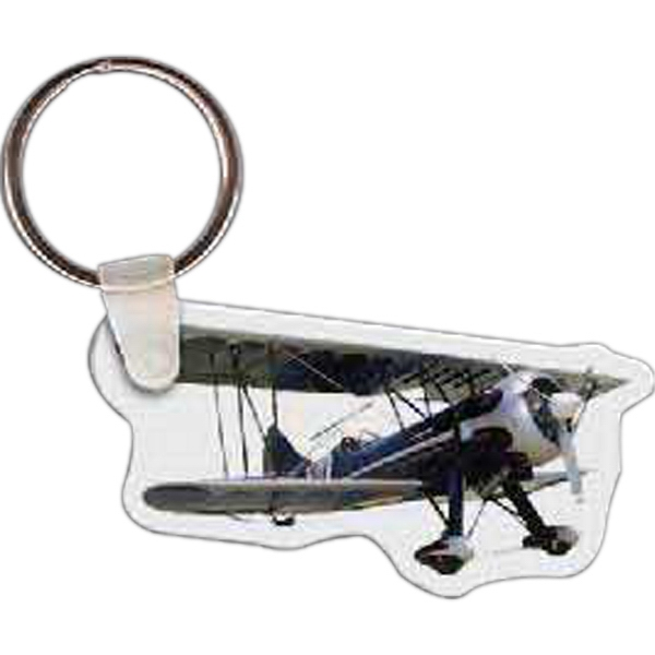 Personalized Bi Plane Key Tag