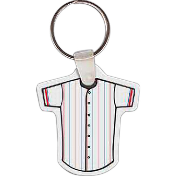 Printed Baseball Jersey Key Tag