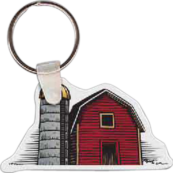 Promotional Barn Key Tag