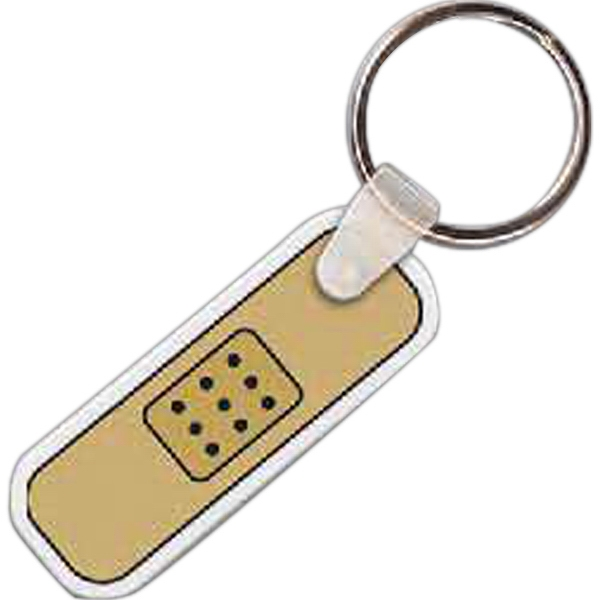 Promotional Bandage Key Tag