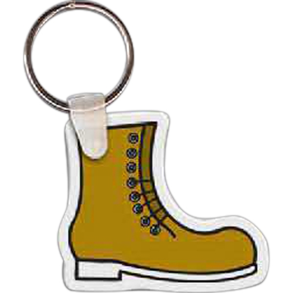 Customized Work Boot Key Tag