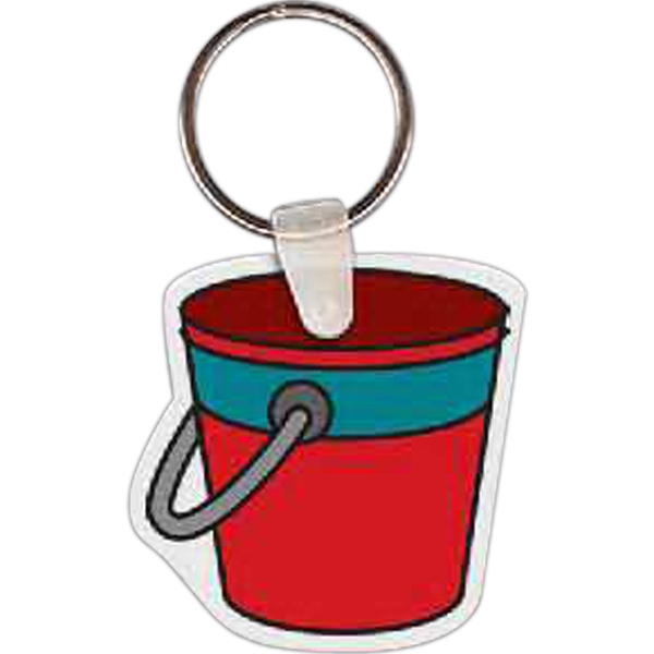 Printed Pail Key tag