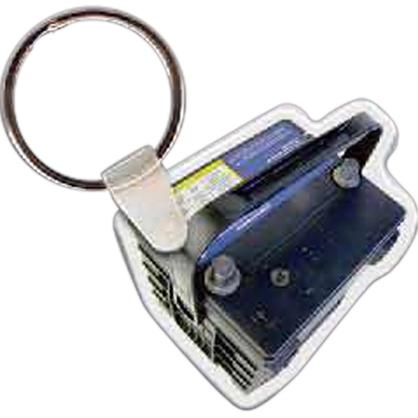 Imprinted Car Battery Key Tag