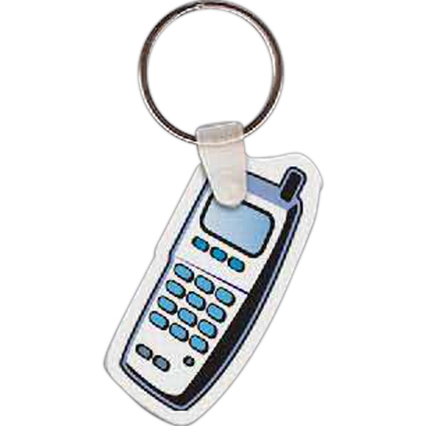 Printed Cell Phone Key Tag