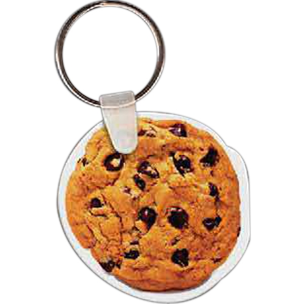 Customized Chocolate Chip Cookie Key Tag