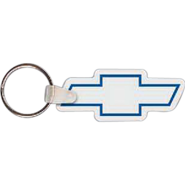 Custom Chevy Logo Key Tag