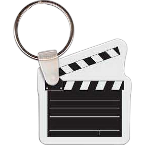 Personalized Clapper Key Tag