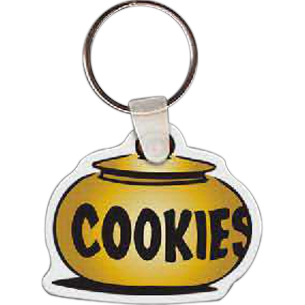 Custom Cookie Jar Key Tag