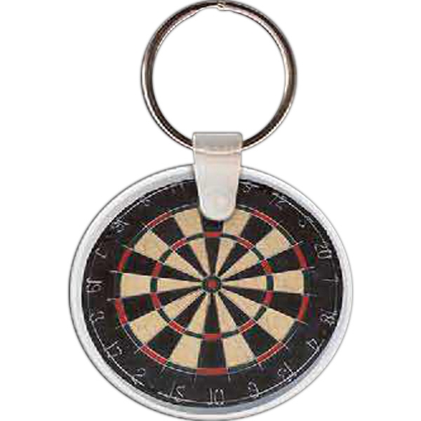 Customized Dart Board Key Tag