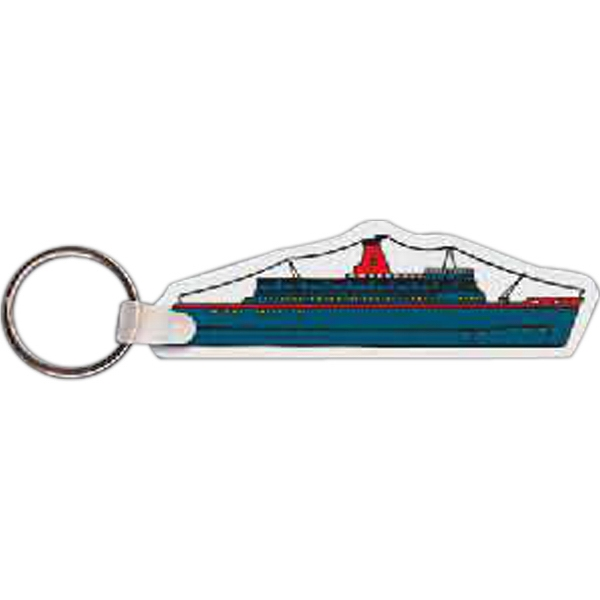 Customized Cruise Ship Key Tag