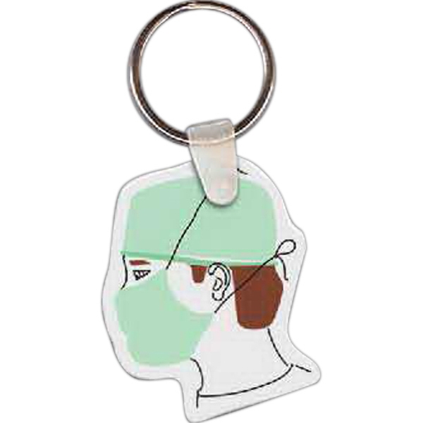Imprinted Doctor Key Tag