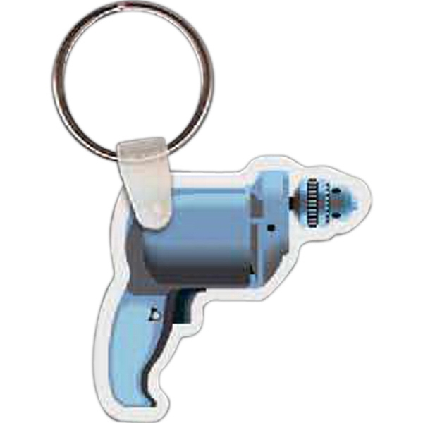 Promotional Drill Key Tag