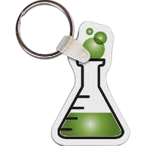 Customized Flask Key Tag