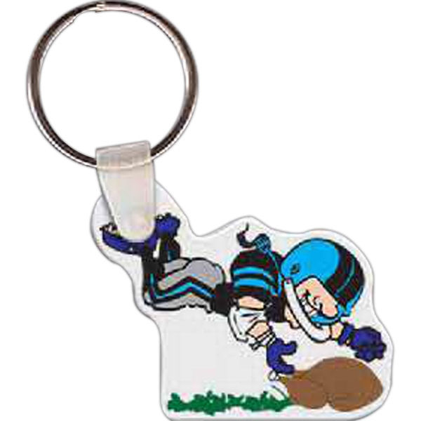 Imprinted Turkey Bowl Key Tag