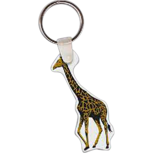 Promotional Giraffe Key Tag