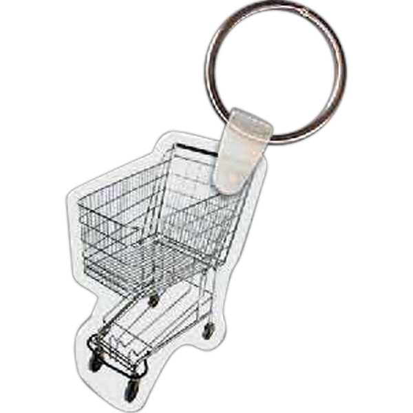 Customized Grocery Cart Key Tag