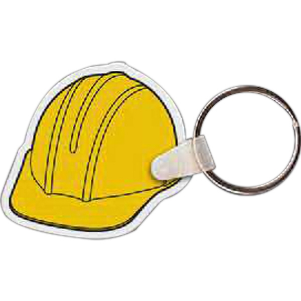 Printed Hard Hat Key Tag
