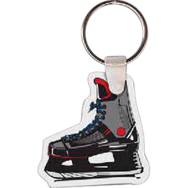 Personalized Hockey Skate Key Tag