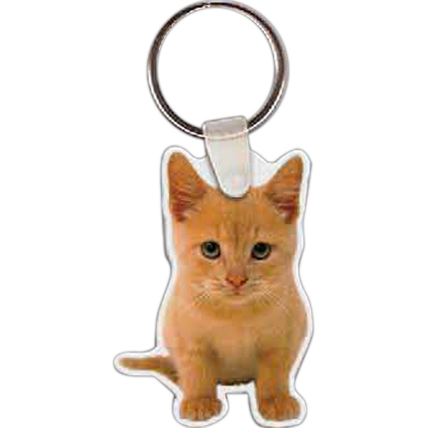 Custom Kitten Key Tag