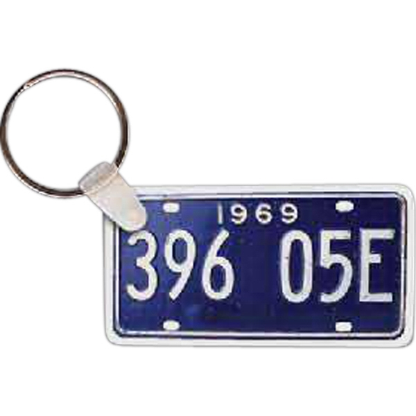 Personalized License Plate Key tag