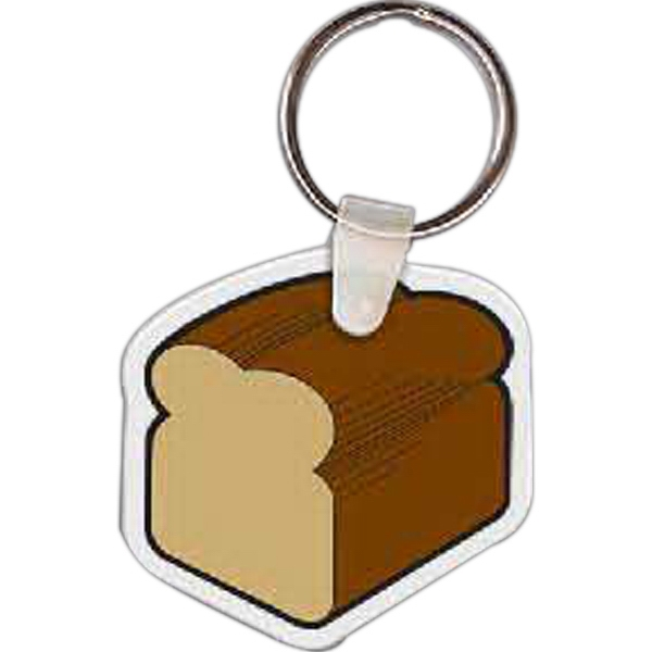 Imprinted Loaf of Bread Key Tag