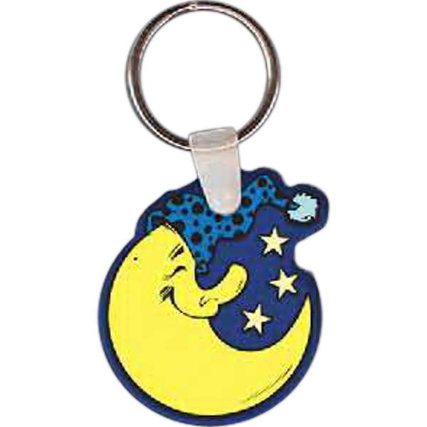 Promotional Moon Key tag