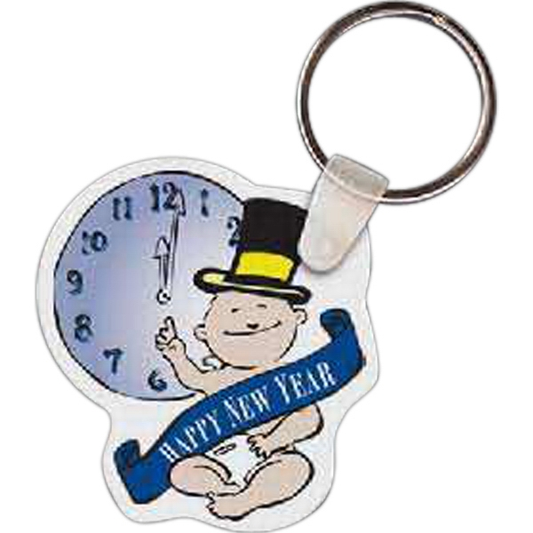 Customized New Year's Baby Key tag