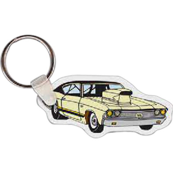 Custom Muscle Car Key Tag