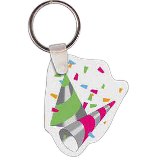 Personalized Party Hats Key tag