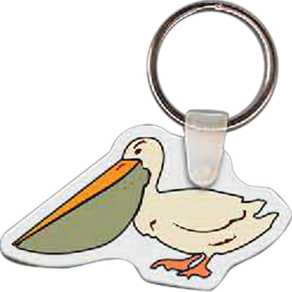 Printed Pelican Key Tag