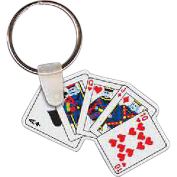 Customized Playing Cards Key tag