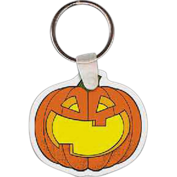Customized Pumpkin Key tag