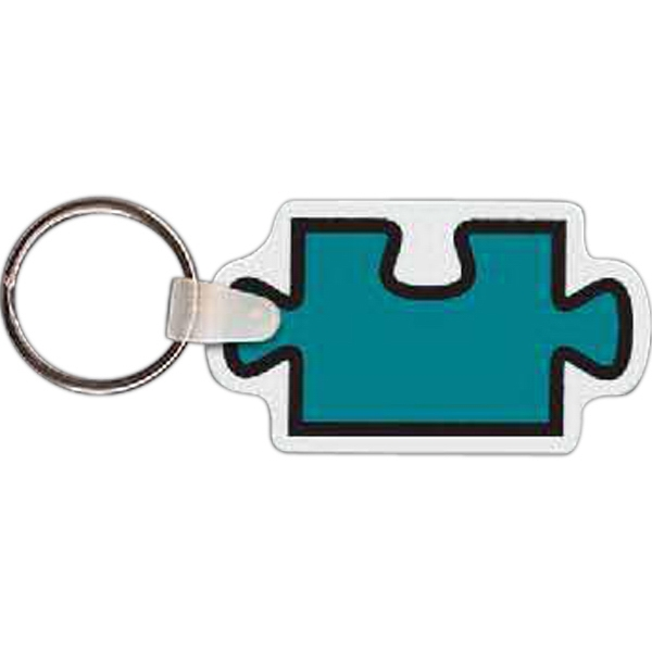 Customized Puzzle Piece Key tag