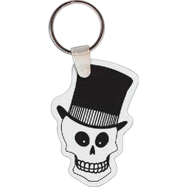 Custom Skeleton Head Key tag