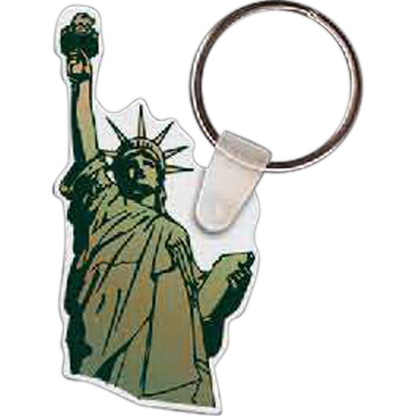 Imprinted Staute of Liberty Key tag