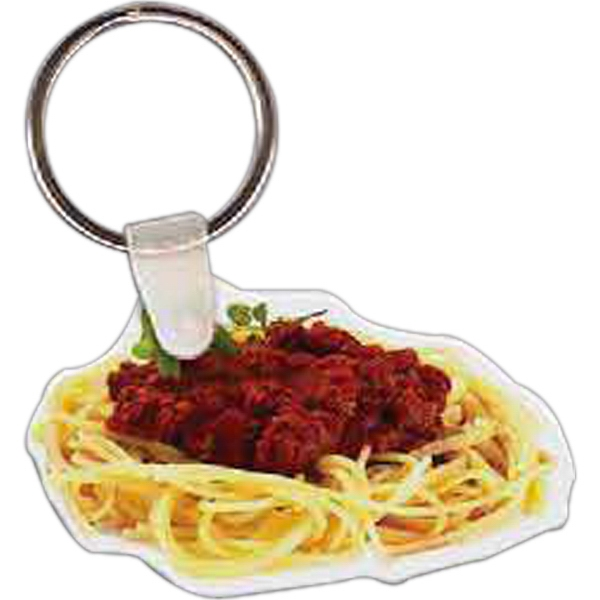 Customized Spaghetti Key Tag