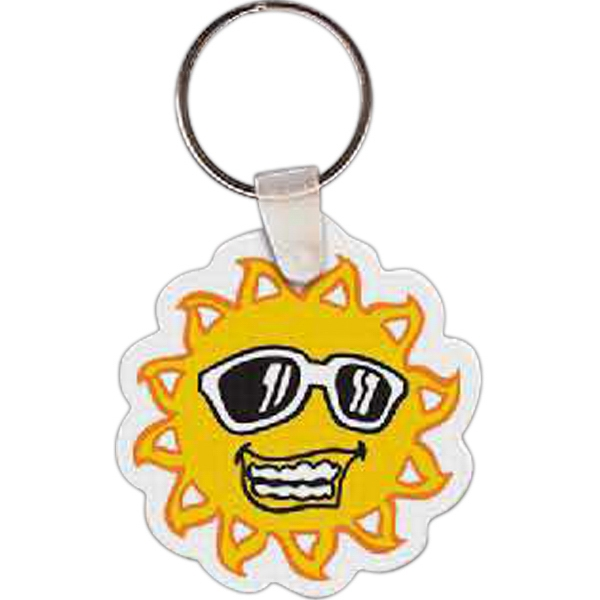 Promotional Sun Key tag