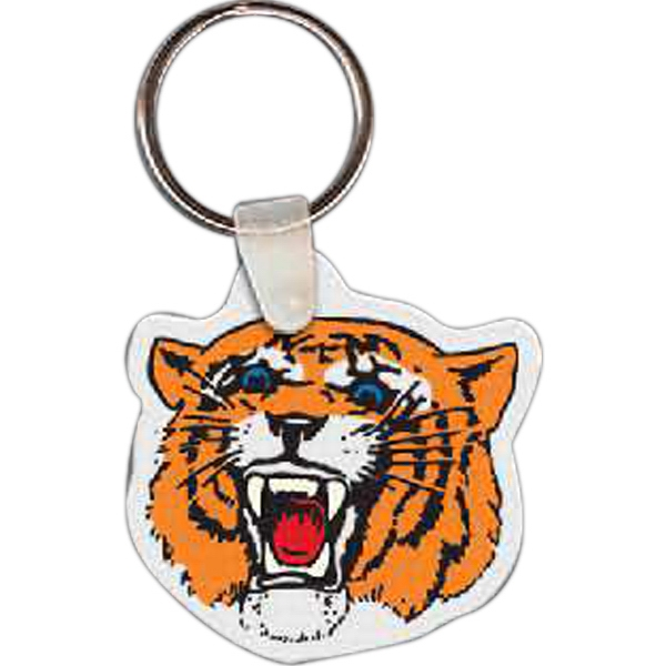 Printed Tiger Key Tag