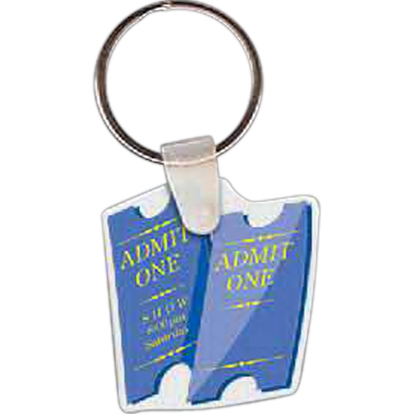 Personalized Tickets Key tag
