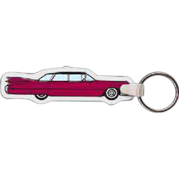 Imprinted Vintage Car Key Tag