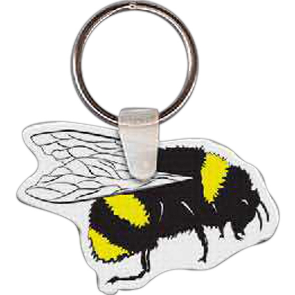 Custom Bee Key Tag