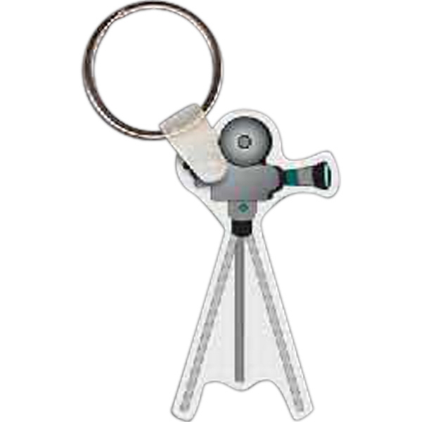 Imprinted Video Camera Key tag